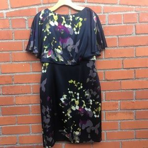 Kay Unger Silk Dress | Size 10